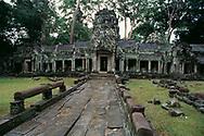Temple de Preah Khan, Cambodge, 1998