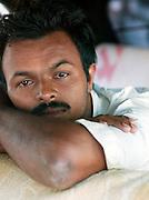 Portrait of taxi driver, Trivandrum, Kerala, India