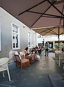 Israel, Tel Aviv, an outdoor cafe