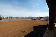 JUSTIN, TX - FEBRUARY 4, 2014: A view of the show arena from the balcony of a home for sale at 1780 Strader Road for the What You Get column. (Cooper Neill / for The New York Times)