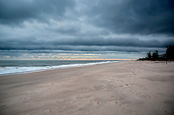 October 7, 2016 - Florida, U.S. - There were no signs of erosion on Riviera Beach Friday morning, October 7, 2016 after the passing of Hurricane Matthew. (Credit Image: © Lannis Waters/The Palm Beach Post via ZUMA Wire)