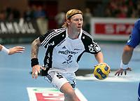 --------------------------------------------------------------------------------<br /> Håndball , 8. oktober 2008 , Champions League , Drammen HK - Kiel Handball Børge Lund , Börge Lund , Kiel