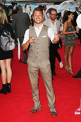 © Licensed to London News Pictures. 09/06/2014. London, UK Dapper Laughs, The Hooligan Factory - World Film Premiere, Odeon West End Leicester Square, London UK, 09 June 2014. Photo credit : Richard Goldschmidt/LNP