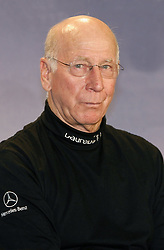 Apr 02, 2007 - Barcelona, Spain - BOBBY CHARLTON at press conference before the 2007 Laureus Sports Awards in Barcelona.  (Credit Image: © Panoramic/ZUMA Press)