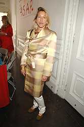 MAIA HIRST at a lunch in aid of African Solutions To African Problems held at Il Bottaccio, 9 Grosvenor Place, London on 20th May 2008.<br />