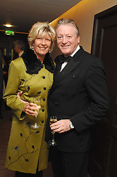 NICK BONHAM and his wife SUE at the Macmillan Cancer Suport Parliamentay Palace of Varieties Show held at the Intercontinental Hotel, Park lane, London on 7th February 2008.<br /><br />NON EXCLUSIVE - WORLD RIGHTS