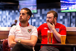 England and Wales fans gather in the Sports Bar and Grill at Ashton Gate - Mandatory by-line: Robbie Stephenson/JMP - 11/06/2016 - FOOTBALL - Ashton Gate - Bristol, United Kingdom  - England vs Russia - UEFA Euro 2016