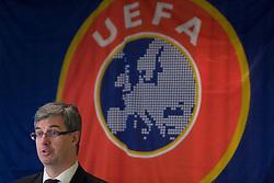 Marcel Benz of UEFA at Management conference of Slovenian Football Federation, on March 10, 2009, in Hotel Kokra, Brdo pri Kranju, Slovenia. (Photo by Vid Ponikvar / Sportida)