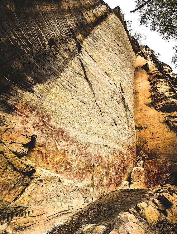 Art Gellay at Carnarvon Gorge, Queensland