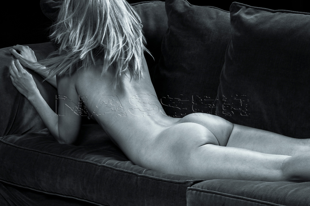 Passionate Editorial Beauty Nude on a couch with the beautiful Julie. <br /> <br /> <br /> No Watermark on Art or Licensed Image. No Unauthorized or Creative Commons Use Permitted. All Rights Reserved. <br /> Copyright ©Amyn Nasser Studios