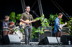 British Sea Power perform live on stage at Common People festival, Southampton Common, Southampton. Picture date: Sunday 28th May 2017. Photo credit should read: DavidJensen/EMPICS Entertainment