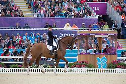 Bechtolsheimer Laura (GBR) - Mistral Hojris <br /> Olympic Games London 2012<br /> © Dirk Caremans