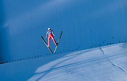 31.12.2017, Olympiaschanze, Garmisch Partenkirchen, GER, FIS Weltcup Ski Sprung, Vierschanzentournee, Garmisch Partenkirchen, Qualifikation, im Bild Stefan Kraft (AUT) // Stefan Kraft of Austria during his Qualification Jump for the Four Hills Tournament of FIS Ski Jumping World Cup at the Olympiaschanze in Garmisch Partenkirchen, Germany on 2017/12/31. EXPA Pictures © 2017, PhotoCredit: EXPA/ JFK