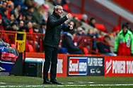 Charlton Athletic Manager Lee Bowyer  during the EFL Sky Bet League 1 match between Charlton Athletic and Accrington Stanley at The Valley, London, England on 19 January 2019.