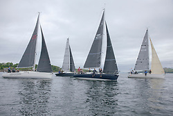 Day1, Class 5,  Fleet, <br /> <br /> Samurai J, J92, 9292C,  CCC / RGYC, Satisfaction, J92 8272T, StMLSC, Jammin, J92, 9214R, Helensburgh SC / Fairlie YC<br /> <br /> The Scottish Series, hosted by the Clyde Cruising Club is an annual series of races for sailing yachts held each spring. Normally held in Loch Fyne the event moved to three Clyde locations due to current restrictions. <br /> <br /> Light winds did not deter the racing taking place at East Patch, Inverkip and off Largs over the bank holiday weekend 28-30 May. <br /> <br /> Image Credit : Marc Turner / CCC
