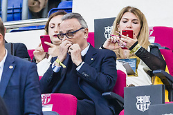 May 6, 2018 - Barcelona, Catalonia, Spain - Joan Gaspar during the match between FC Barcelona v Real Madrid, for the round 36 of the Liga Santander, played at Camp nou  on 6th May 2018 in Barcelona, Spain. (Credit Image: © Urbanandsport/NurPhoto via ZUMA Press)