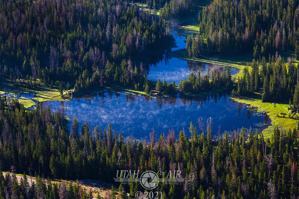 Bonnie Lake in the Uintah Mountains