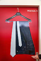 AERDENHOUT - Heren kleedkamer bij hockeyclub Rood-Wit in Aerdenhout. COPYRIGHT KOEN SUYK