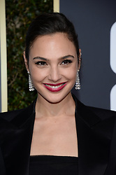 Gal Gadot attending the 75th Annual Golden Globes Awards held at the Beverly Hilton in Beverly Hills, in Los Angeles, CA, USA on January 7, 2018. Photo by Lionel Hahn/ABACAPRESS.COM  | 620791_188 Los Angeles Etats-Unis United States