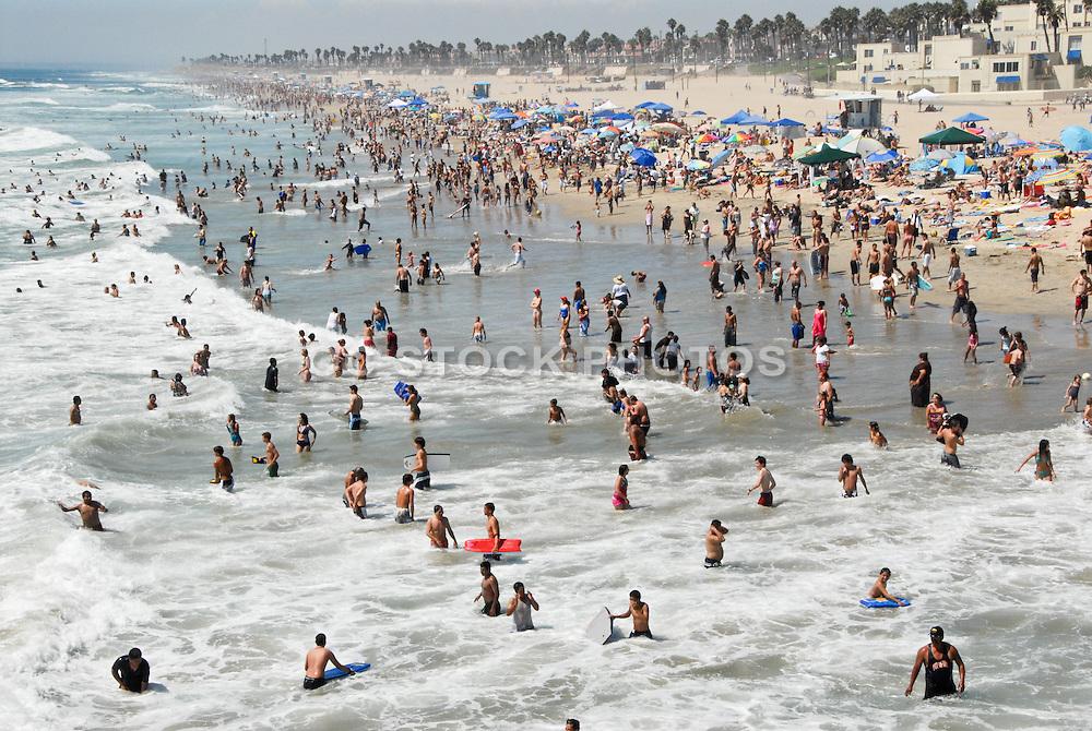 Summer Time in Huntington Beach