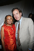 14 June 2010- Harlem, New York- l to r: Cathy Hughes and Mark Cornell at The Apollo Theater's 2010 Spring Benefit and Awards Ceremony hosted by Jamie Foxx inducting Aretha Frankilin and Michael Jackson, and honoring Jennifer Lopez and Marc Anthony co- sponsored by Moet et Chandon which was held at the Apollo Theater on June 14, 2010 in Harlem, NYC. Photo Credit: Terrence Jennngs/Sipa