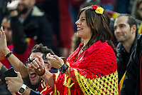 Spain's supporters during the match of European qualifying round between Spain and Macedonia at Nuevo Los Carmenes Stadium in Granada, Spain. November 12, 2016. (ALTERPHOTOS/Rodrigo Jimenez)