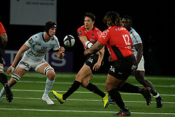 April 8, 2018 - Nanterre, Hauts de Seine, France - RC Toulon Fly Half FRANCOIS TRINH DUC in action during the French rugby championship Top 14 match between Racing 92 and RC Toulon at U Arena Stadium in Nanterre - France..Racing 92 Won  17-13. (Credit Image: © Pierre Stevenin via ZUMA Wire)