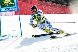 Cristian Javier SIMARI BIRKNER (ARG) during the Audi FIS Alpine Ski World Cup Men's Giant Slalom at 60th Vitranc Cup 2021 on March 13, 2021 in Podkoren, Kranjska Gora, Slovenia Photo by Grega Valancic / Sportida