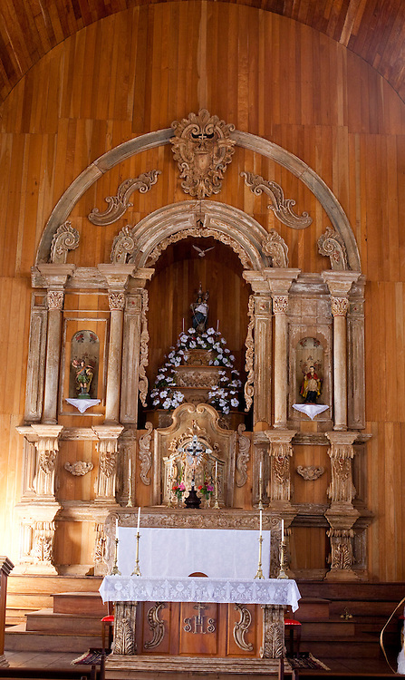 Pirenopolis_GO, Brasil...Interior da Igreja de Nossa Senhora do Rosario em Pirenopolis, Goias...Image of Interior of Nossa Senhora do Rosario Church in Pirenopolis, Goias...Foto: JOAO MARCOS ROSA / NITRO.