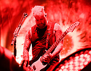 Jasen Rauch  , Lead Guitar with Breaking Benjamin performs at Fivepoint Amphitheater in Irvine Ca. on September 16th, 2016