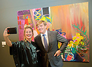 King Willem-Alexander handed over the Royal Award for Freedom of Painting, 07-10-2016