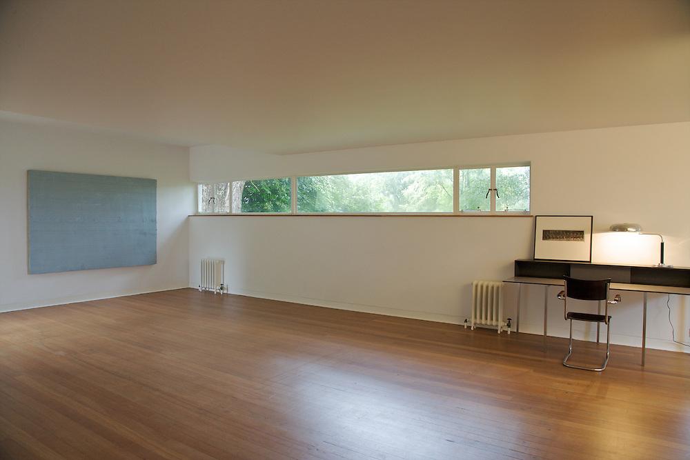 The studio at Warren House, Wayne McGregor's Dartington Estate home in Devon<br /> Vanessa Berberian for The Wall Street Journal