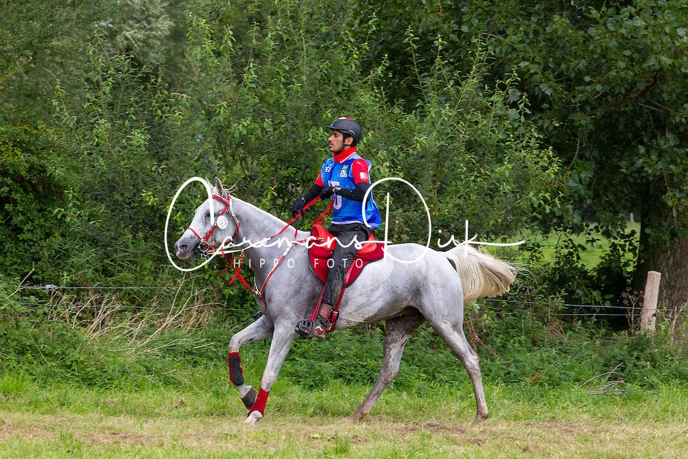 Jaafer Merza Abdulnabi Hassan, (BRN), Presage De Crouz<br /> Alltech FEI World Equestrian Games™ 2014 - Normandy, France.<br /> © Hippo Foto Team - Leanjo de Koster<br /> 25/06/14