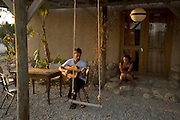"""Israel, Negev, The Francis Minkoff """"Desert Shanti"""" A home for youngsters at risk – absorbing 1,000 each year from the south and nationwide, continuing the principles of Shanti House and enlarging the scope of its therapeutic tools through the healing force of the desert and its distance from negative stimuli."""