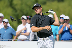 May 18, 2018 - Dallas, TX, U.S. - DALLAS, TX - MAY 18:  Jordan Spieth of the United States releases his right hand during his tee shot on #1 at the second round of the 50th anniversary AT&T Byron Nelson on May 18, 2018 at Trinity Forest Golf Club in Dallas, TX.  (Photo by Andrew Dieb/Icon Sportswire) (Credit Image: © Andrew Dieb/Icon SMI via ZUMA Press)