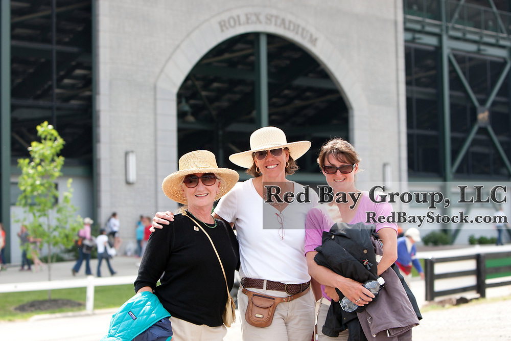 Sharon Anthony and friends at the 2012 Rolex Kentucky Three-Day Event held at the Kentucky Horse Park in Lexington, KY.