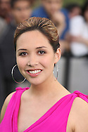 British singer Myleene Klass arriving at the International Indian Film Academy Awards (IIFA) ceremony at the Hallam Arena in Sheffield for the annual IIFA awards. The awards were known as the 'Bollywood Oscars' and ran from 7-10th June. They were watched by an estimated global television audience 500 million people.