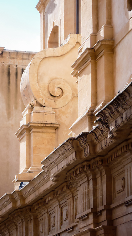 Noto (Nuotu in Sicilian) is a city in Sicily, Italy, in the Province of Syracuse, 32 km southwest of the city of Syracuse, at the feet of the Iblei Mountains. The city gives its name to the surrounding valley, Val di Noto. In 2002 Noto and its church were declared a UNESCO World Heritage Site [1].from Wikipedia