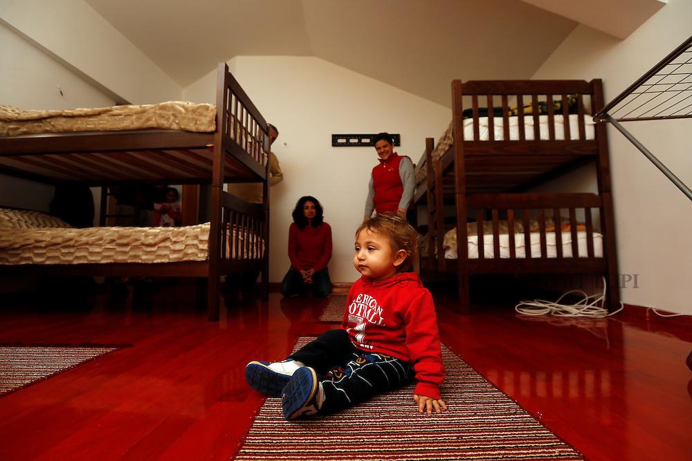 JRS shelter in Skopje, Macedonia.<br /> Photo: Darrin Zammit Lupi