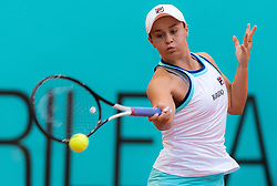 May 6, 2019 - Madrid, MADRID, SPAIN - Ashleigh Barty of Australia in action during her second-round match at the 2019 Mutua Madrid Open WTA Premier Mandatory tennis tournament (Credit Image: © AFP7 via ZUMA Wire)