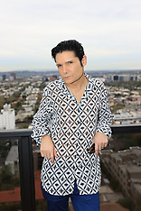 Corey Feldman is pictured at a Los Angeles hotel - 10 March 2020