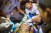 Volunteers Medics Race to Save Lives in Bangkok