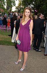 Actress MISCHA BARTON at the Serpentine Gallery Summer party sponsored by Yves Saint Laurent held at the Serpentine Gallery, Kensington Gardens, London W2 on 11th July 2006.<br /><br />NON EXCLUSIVE - WORLD RIGHTS