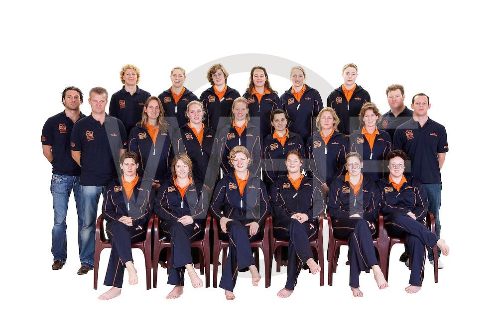 team foto dames waterpolo voor peking