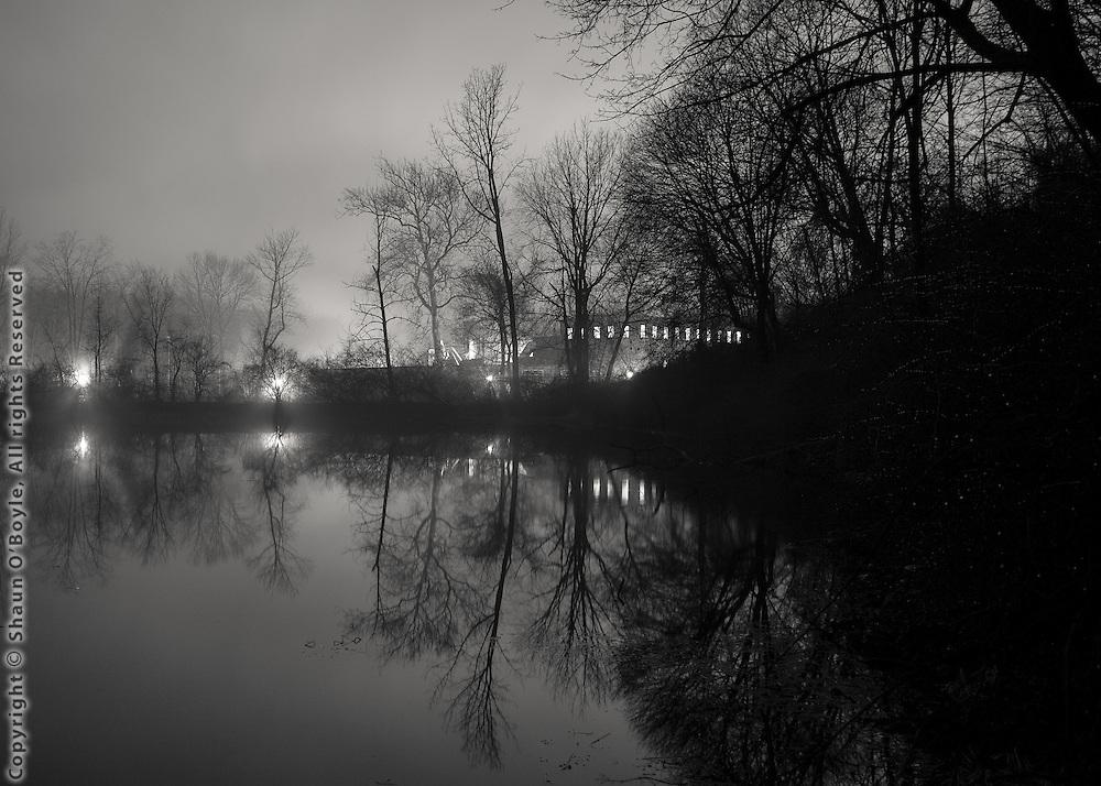 Crane Pond & Bay State Mill, Dalton, MA