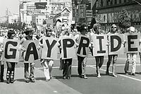 1975 Gay Pride Parade on Hollywood Blvd.