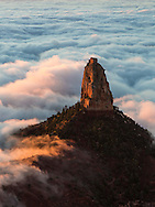 Inversion layer, Point Imperial, North Rim, Grand Canyon, National Park, Arizona
