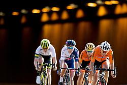 September 23, 2017 - Bergen, NORWAY - 170923 The breakaway group compete during the Women Elite Road Race on September 23, 2017 in Bergen..Photo: Vegard Wivestad GrÂ¿tt / BILDBYRN / kod VG / 170026 (Credit Image: © Vegard Wivestad Gr¯Tt/Bildbyran via ZUMA Wire)