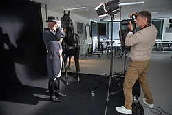 Henk van Cauwenbergh, Jeroen Devroe<br /> Foto shoot met Henk van Cauwenbergh voor KBRSF - Zaventem 2018<br /> © Hippo Foto - Dirk Caremans<br /> 01/05/2018