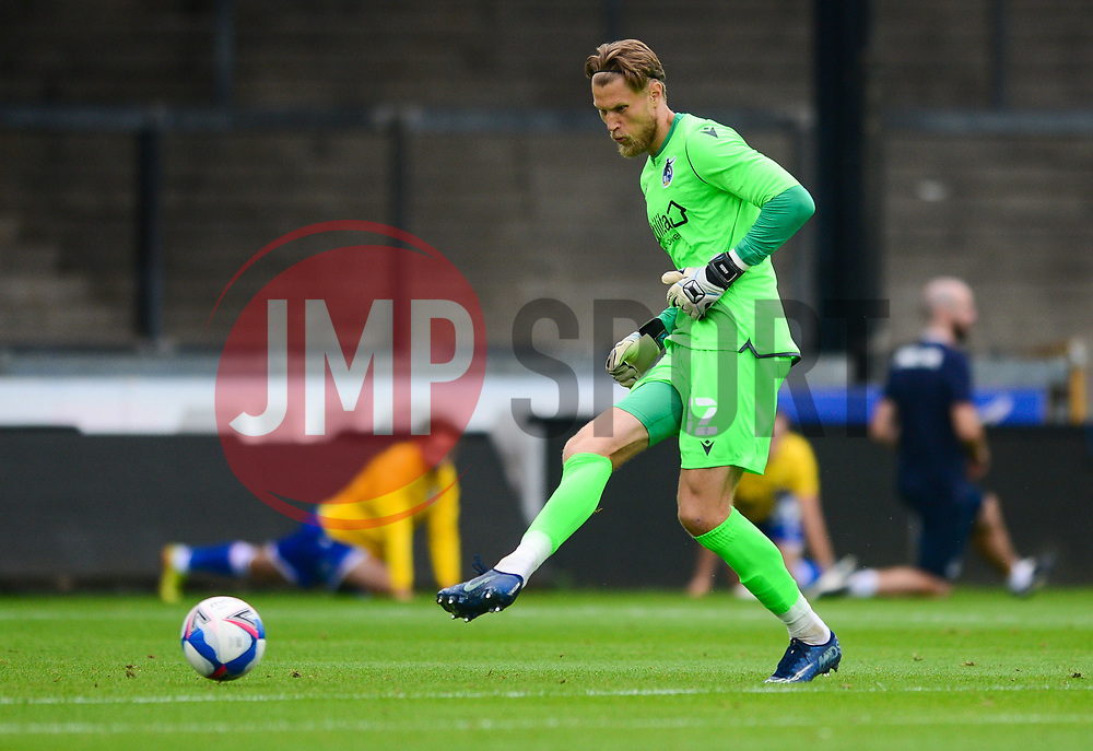Anssi Jaakkola of Bristol Rovers - Mandatory by-line: Dougie Allward/JMP - 15/08/2020 - FOOTBALL - Memorial Stadium - Bristol, England - Bristol Rovers v Exeter City - Pre-season friendly